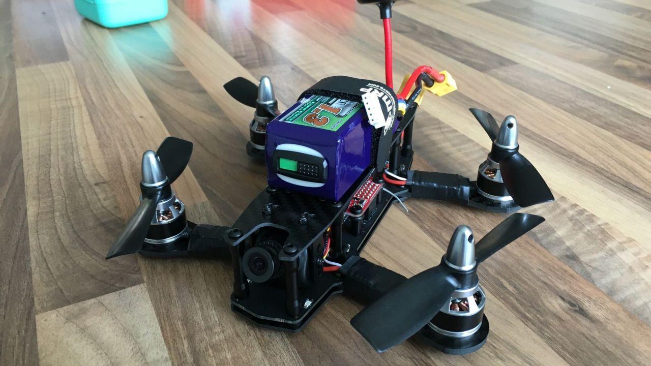 Inimini H 4″ 180mm race quadcopter